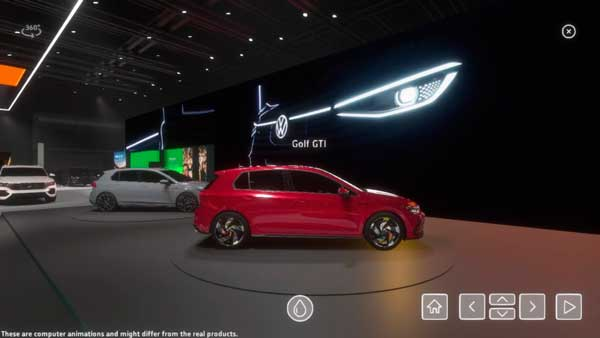 Volkswagen Golf GTI Salon de Ginebra 2020 Virtual Stand