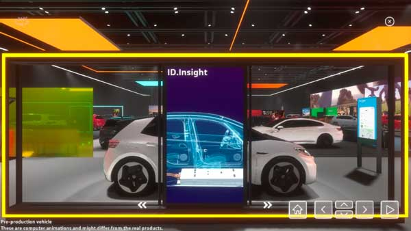 Volkswagen ID.Insight Stand Virtual Salon de Ginebra 2020