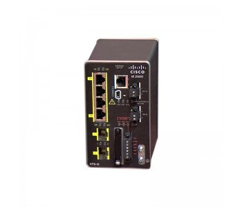 IE-2000-4TS-G-B IE 4 10/100,2 SFP Gig port, Base