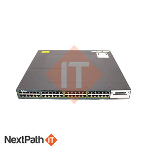 Cisco Catalyst C3560X 48 Port Switch Ws-C3560X-48P-S Switches