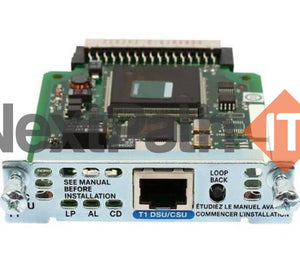 Cisco Router High-Speed Wan Interface Card Hwic-1Dsu-T1 Interfaces/modules