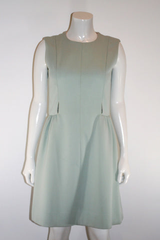 60s Powder Blue Cut out Dress