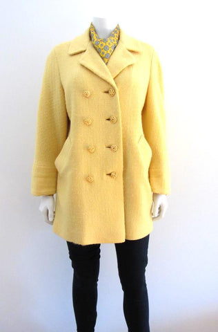 Yellow Bracelet Sleeve Coat