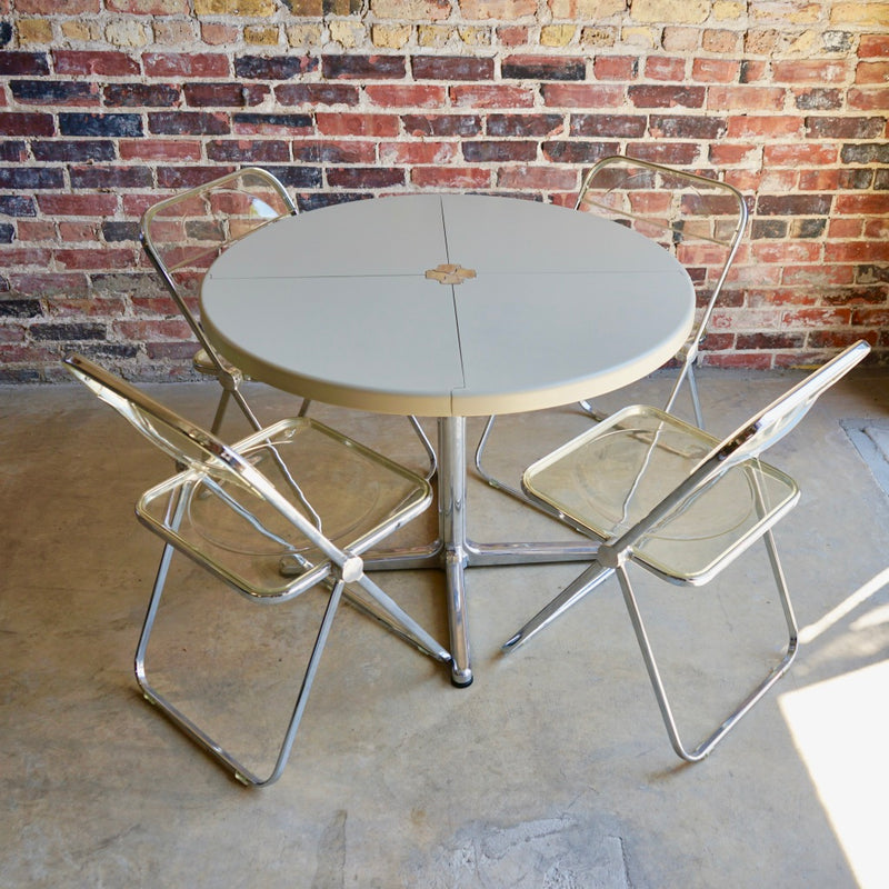 """Plana"" Folding Table designed by Giancarlo Piretti for Castelli"