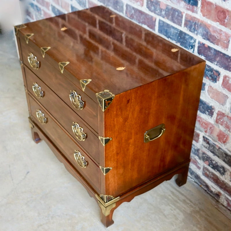 Henredon Asian Inspired Petite Chest of Drawers