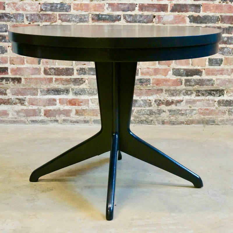 Mid-century Black Lacquer Dining Table