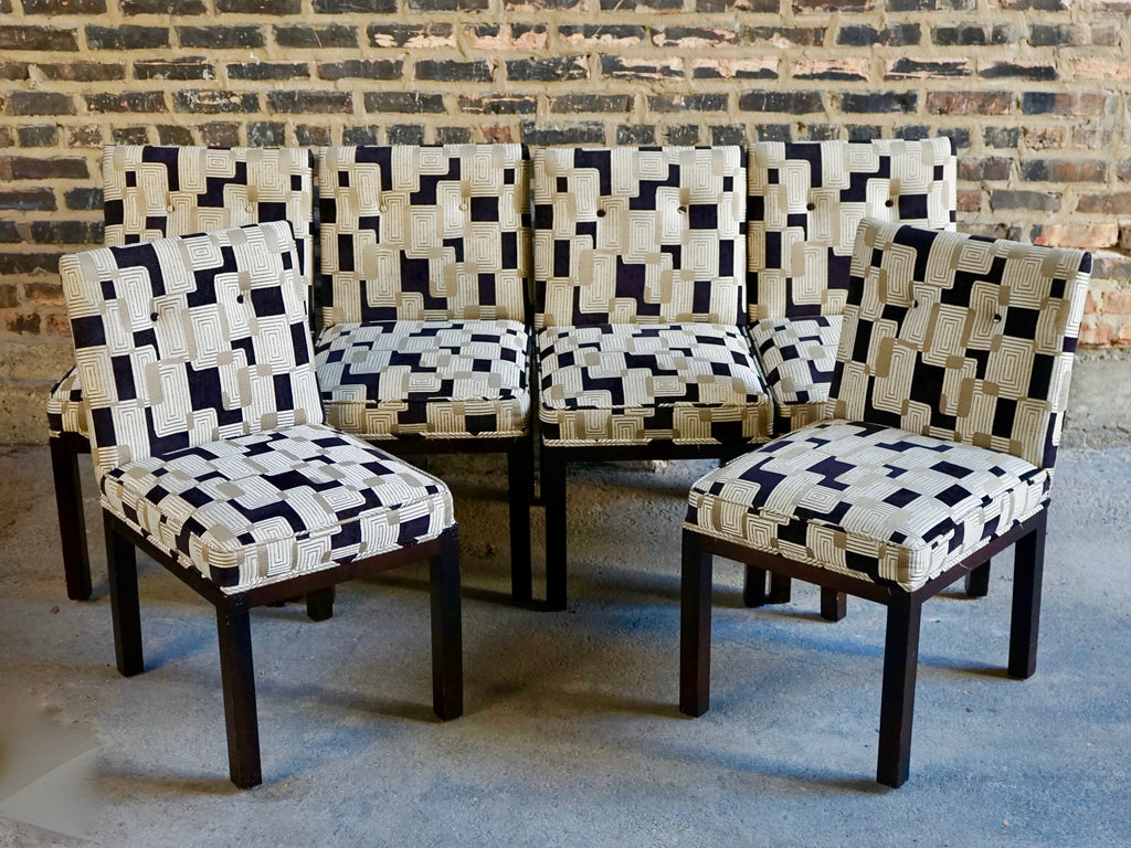 Mid-century parsons dining chairs chicago