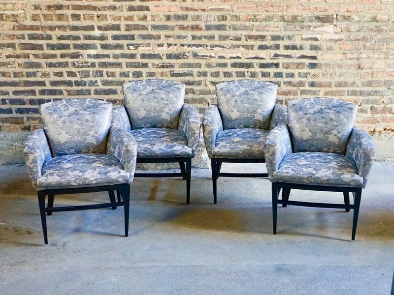 Donghia Upholstered dining chairs chicago