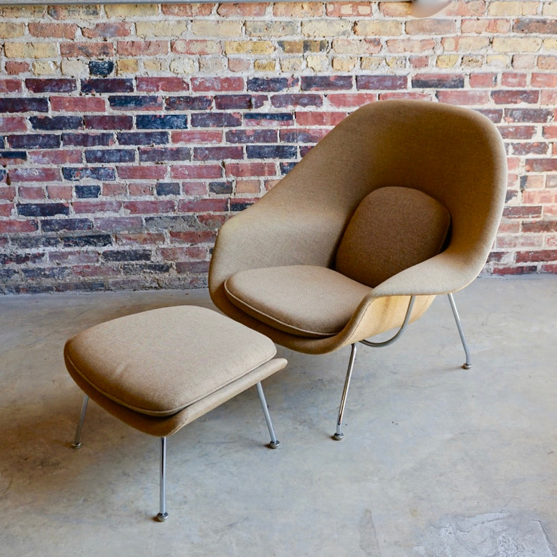 Knoll Womb Chair and Ottoman Chicago
