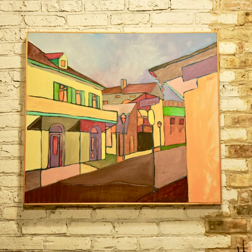 Craig C Reheis Painting of French Quarter