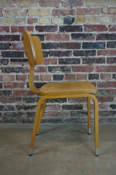 Mid Century Bent Plywood Thonet Chair