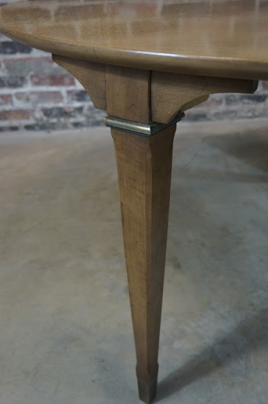Mid Century Tomlinson Round Cocktail Table