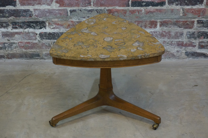 Rare Mid Century Tomlinson Sophisticate Petite Side Table