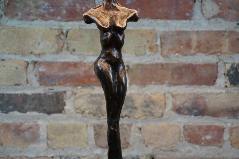 "Bronze Lamp titled ""Rooted"" B by Chicago Artist, Eoin Cullen"