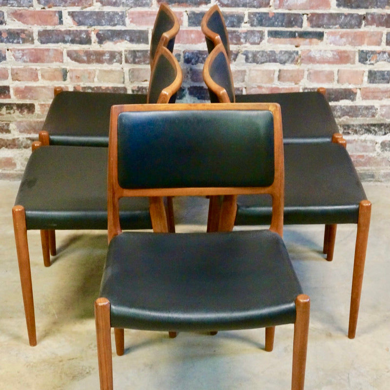 Niels O Moller Dining Chairs - Set of Six