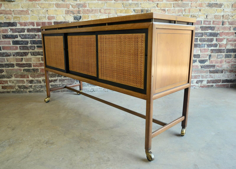 Michael Taylor Rolling Server Caned rare Chicago