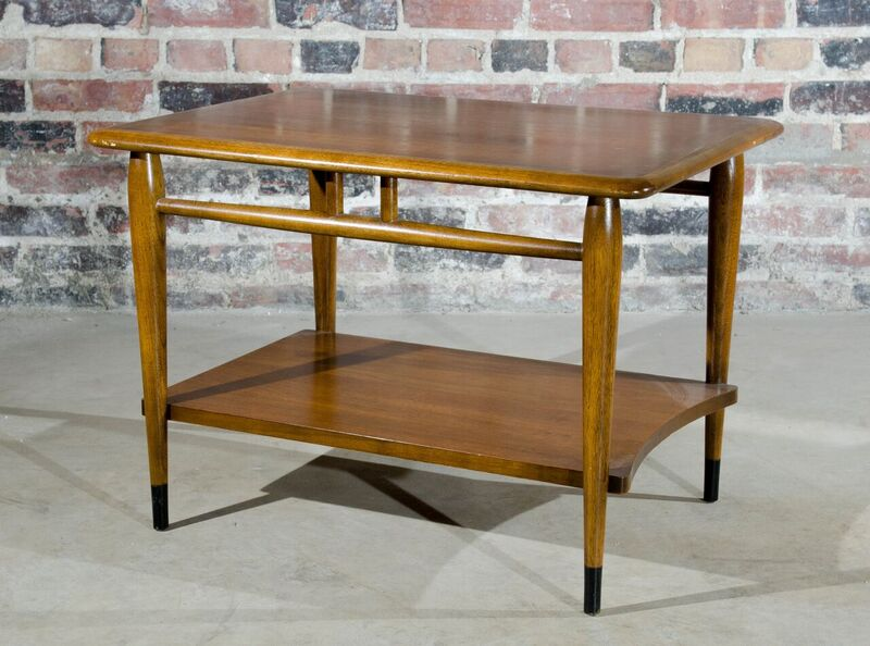 Lane Mid Century Walnut End Table