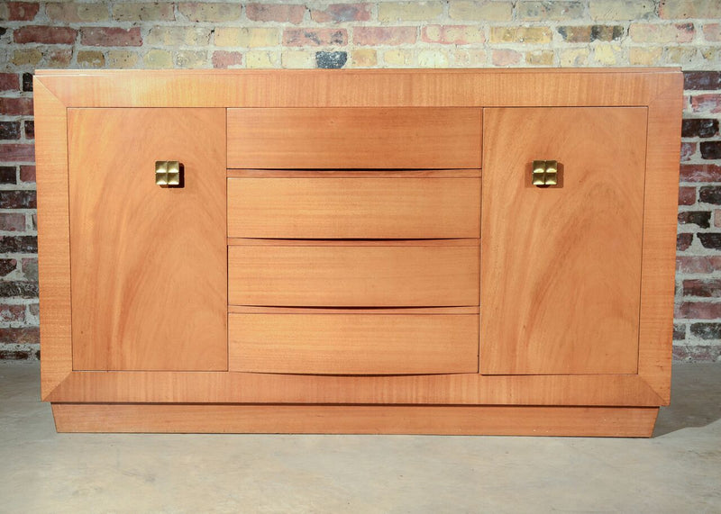 ArtDeco Bookmatched Rway Buffet