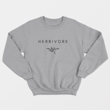 Load image into Gallery viewer, Herbivore Classic - Vegan Sweatshirt (Unisex)-Vegan Apparel, Vegan Clothing, Vegan Sweatshirt-Vegan Outfitters-Vegan Outfitters