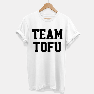 Team Tofu - T-Shirt (Unisex) Vegan Gift Ideas-Vegan Apparel, Vegan Clothing, Vegan T Shirt-Vegan Outfitters