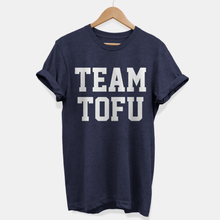 Load image into Gallery viewer, Team Tofu - T-Shirt (Unisex) Vegan Gift Ideas-Vegan Apparel, Vegan Clothing, Vegan T Shirt-Vegan Outfitters