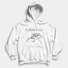 Load image into Gallery viewer, Head Tomatoes - Vegan Hoodie (Unisex)-Vegan Apparel, Vegan Clothing, Vegan Hoodie-Vegan Outfitters