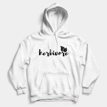 Load image into Gallery viewer, Herbivore Script - Vegan Hoodie (Unisex)-Vegan Apparel, Vegan Clothing, Vegan Hoodie-Vegan Outfitters