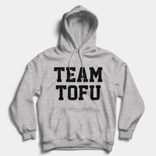 Load image into Gallery viewer, Team Tofu - Vegan Hoodie (Unisex)-Vegan Apparel, Vegan Clothing, Vegan Hoodie-Vegan Outfitters