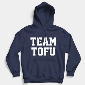 Team Tofu - Vegan Hoodie (Unisex)-Vegan Apparel, Vegan Clothing, Vegan Hoodie-Vegan Outfitters