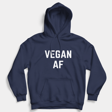 Load image into Gallery viewer, Vegan AF - Hoodie (Unisex) Gift Ideas-Vegan Apparel, Vegan Clothing, Vegan Hoodie-Vegan Outfitters