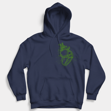 Load image into Gallery viewer, Vegan Anatomy Heart - Vegan Hoodie (Unisex)-Vegan Apparel, Vegan Clothing, Vegan Hoodie-Vegan Outfitters