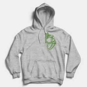 Vegan Anatomy Heart - Vegan Hoodie (Unisex)-Vegan Apparel, Vegan Clothing, Vegan Hoodie-Vegan Outfitters