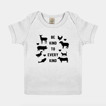 Load image into Gallery viewer, Be Kind To Every Kind - Vegan Baby Shirt-Vegan Apparel, Vegan Clothing, Vegan Baby Shirt-Vegan Outfitters