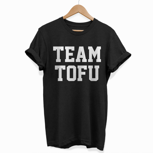 Team Tofu - T-Shirt (Unisex) Vegan Gift Ideas-Vegan Apparel, Vegan Clothing, Vegan T Shirt-Vegan Outfitters-Vegan Outfitters