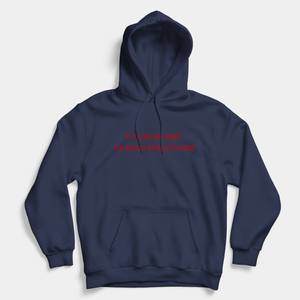 If You're Not Angry You're Not Paying Attention - Vegan Hoodie (Unisex)-Vegan Apparel, Vegan Clothing, Vegan Hoodie-Vegan Outfitters