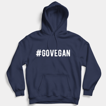 Load image into Gallery viewer, Go Vegan - Vegan Hoodie (Unisex)-Vegan Apparel, Vegan Clothing, Vegan Hoodie-Vegan Outfitters