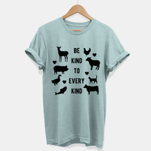 Load image into Gallery viewer, Be Kind To Every Kind - Ethical Vegan T-Shirt (Unisex)