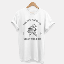 Load image into Gallery viewer, For The Voiceless - Ethical Vegan T-Shirt (Unisex)