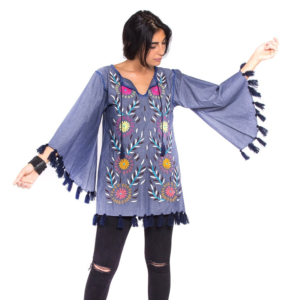 Flower In The Sun tunic