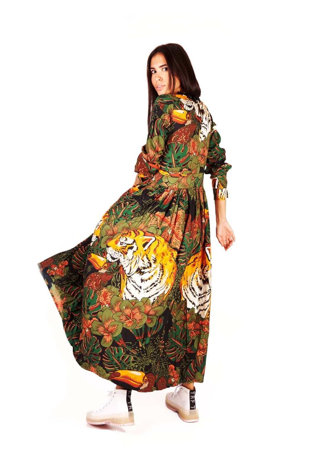 Mya Deep Safari dress