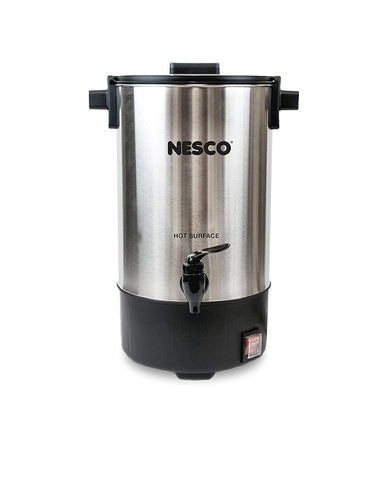Nesco CU-25 25 Cup Coffee Urn, Stainless Steel/Black