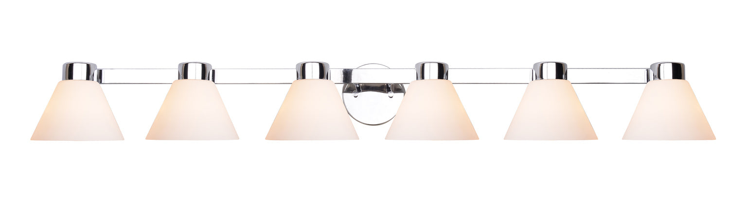 Maxwell 6 Light Vanity
