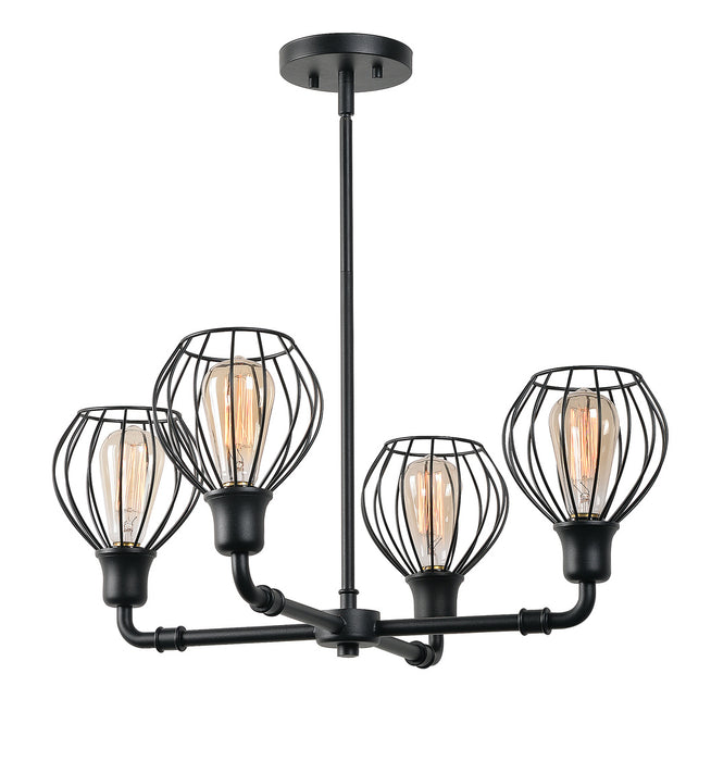 Cagney 4 Light Chandelier