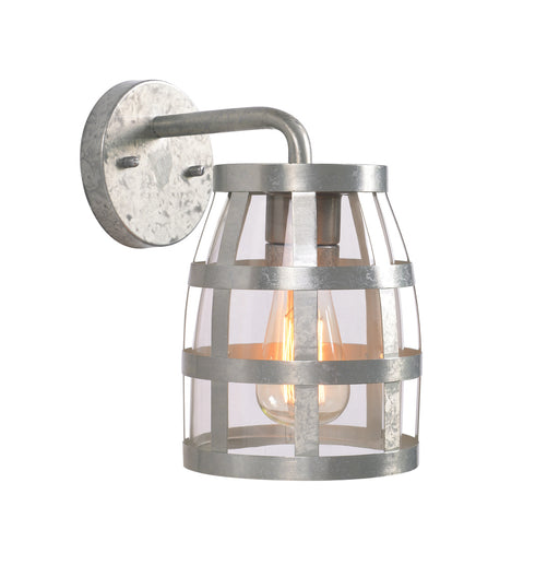 Pail 1 Light Outdoor Lantern