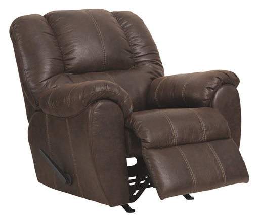 Rocker Recliner, Walnut