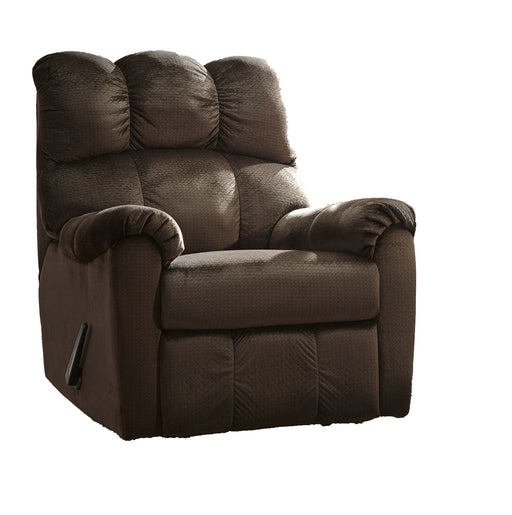 Rocker Recliner, Chocolate