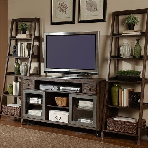 Entertainment Center With Piers (197-Entw-Ecp)