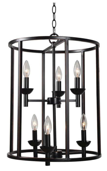 Arlen 6 Light Foyer