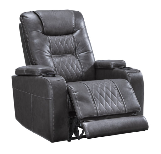 PWR Recliner/ADJ Headrest, Gray
