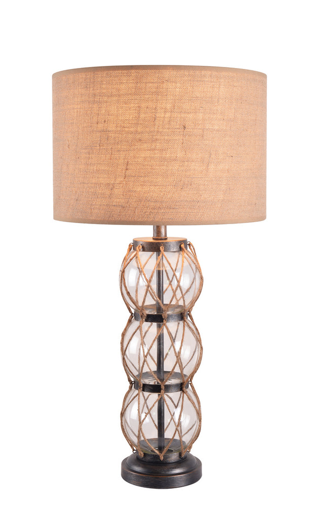 Columbus Stacked Table Lamp